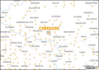 map of Cabaguiao
