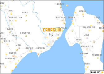 map of Cabaguio