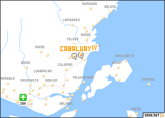 map of Cabaluay