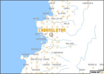 map of Cabanglotan