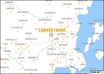 map of Cabangtohan