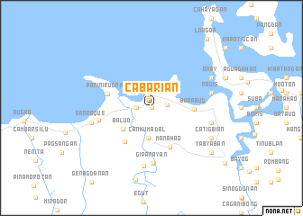map of Cabarian