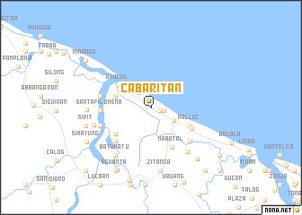 map of Cabaritan