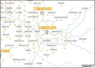 map of Cabaruan