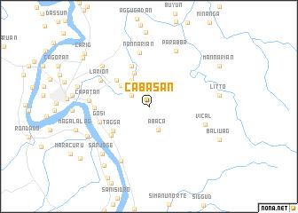 map of Cabasan
