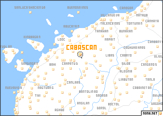 map of Cabascan
