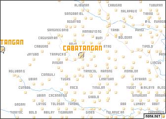 map of Cabatañgan