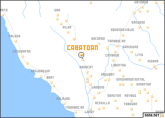 map of Cabato-an
