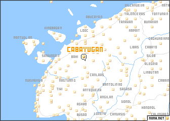 map of Cabayugan