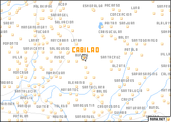 map of Cabilao