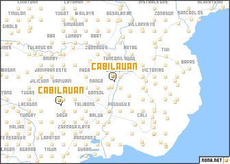 map of Cabilauan