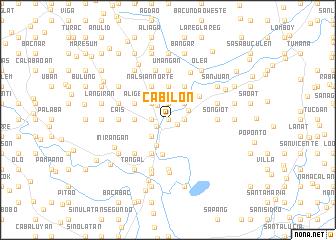 map of Cabilon
