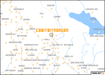 map of Cabitbitnongan