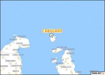 map of Cabugaan