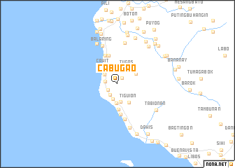 map of Cabugao