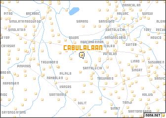 map of Cabulalaan