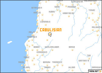 map of Cabulisian