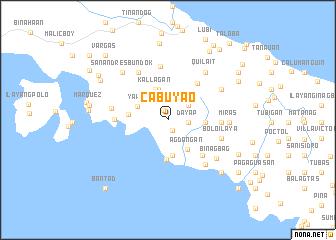 map of Cabuyao