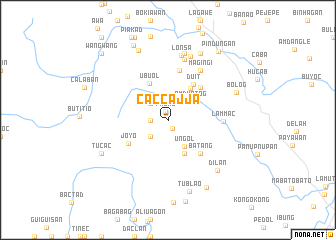 map of Caccajja
