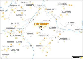 map of Cachipay