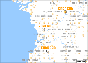 map of Cadacad