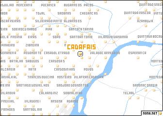 map of Cadafais