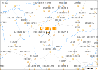 map of Cadasari
