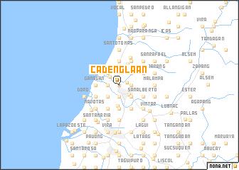 map of Cadenglaan
