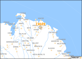 map of Cadre