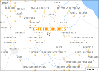 map of Cafetal Dolores