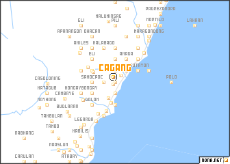map of Cagang