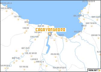Cagayan Philippines Map.Cagayan De Oro Philippines Map Nona Net