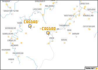 map of Cagdao