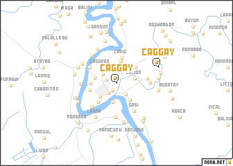 map of Caggay