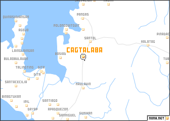 map of Cagtalaba