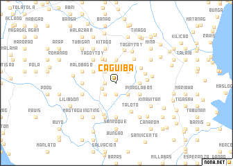map of Caguiba