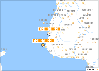 map of Cahagnaan