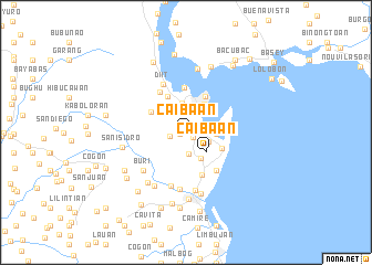 map of Caibaan