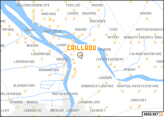 map of Caillaou