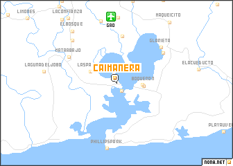 map of Caimanera