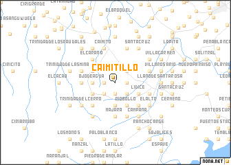 map of Caimitillo