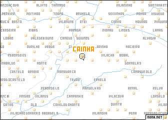 map of Cainha