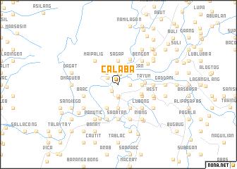 map of Calaba