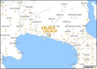 map of Calaca