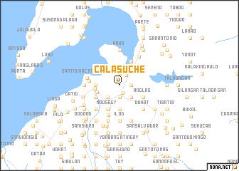 map of Calasuche