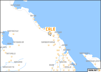 map of Cale