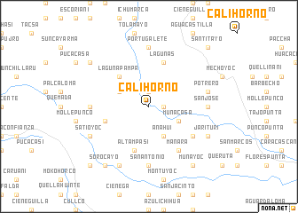 map of Calihorno