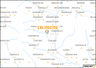 map of Calingcing