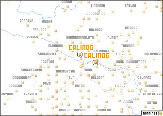 map of Calinog