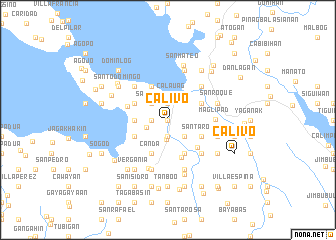 map of Calivo